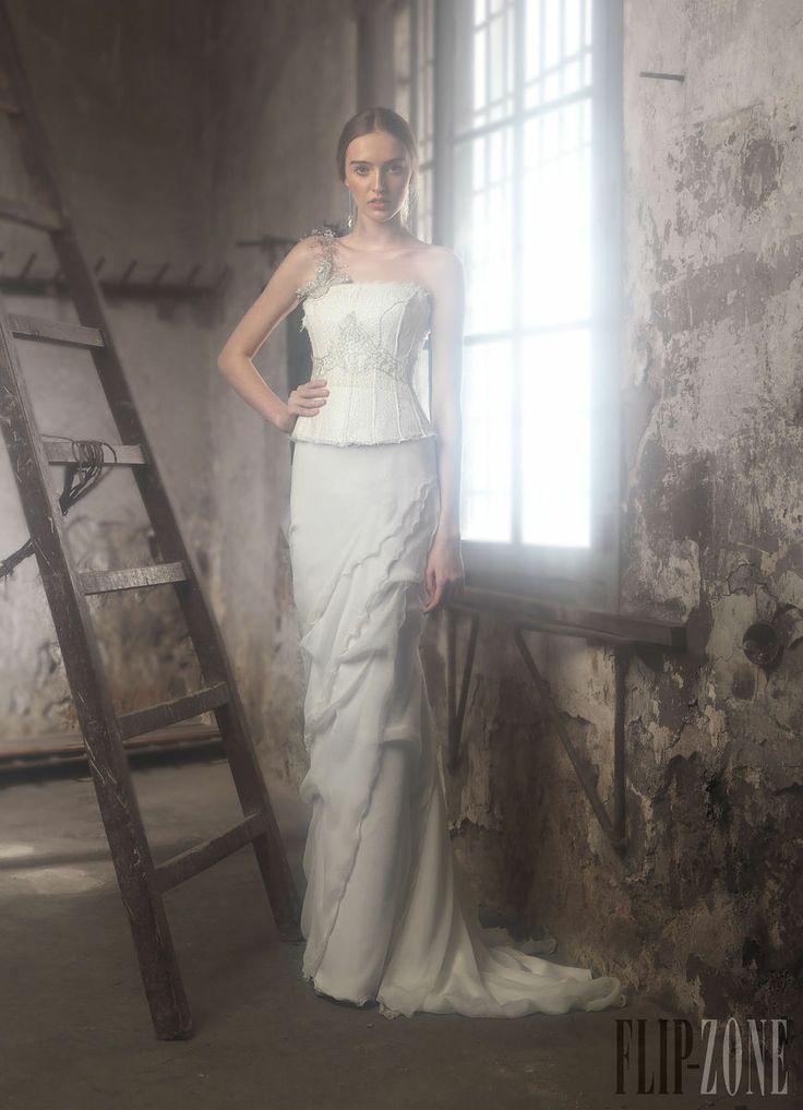 One shoulder strap wedding dress inspiration 2281961 for Wedding dresses one strap