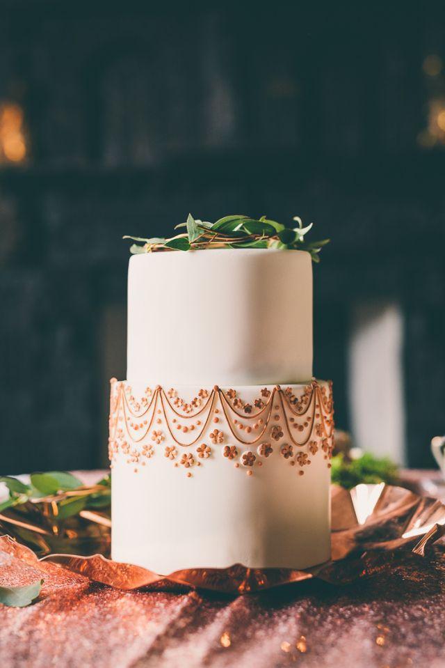 Wedding - Whimsical English Copper Wedding Ideas
