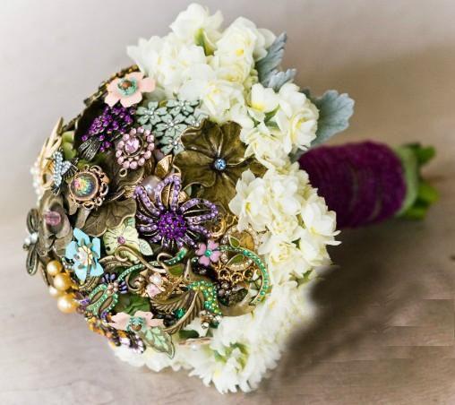 Свадьба - WEDDING/brooch Bouquet