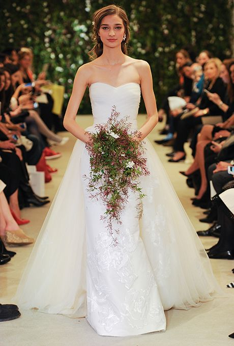 Свадьба - Carolina Herrera Wedding Dresses - Spring 2016 - Bridal Runway Shows - Brides.com