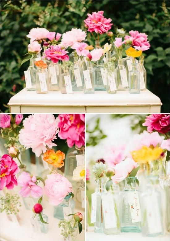 Свадьба - Colorful Garden Wedding Ideas