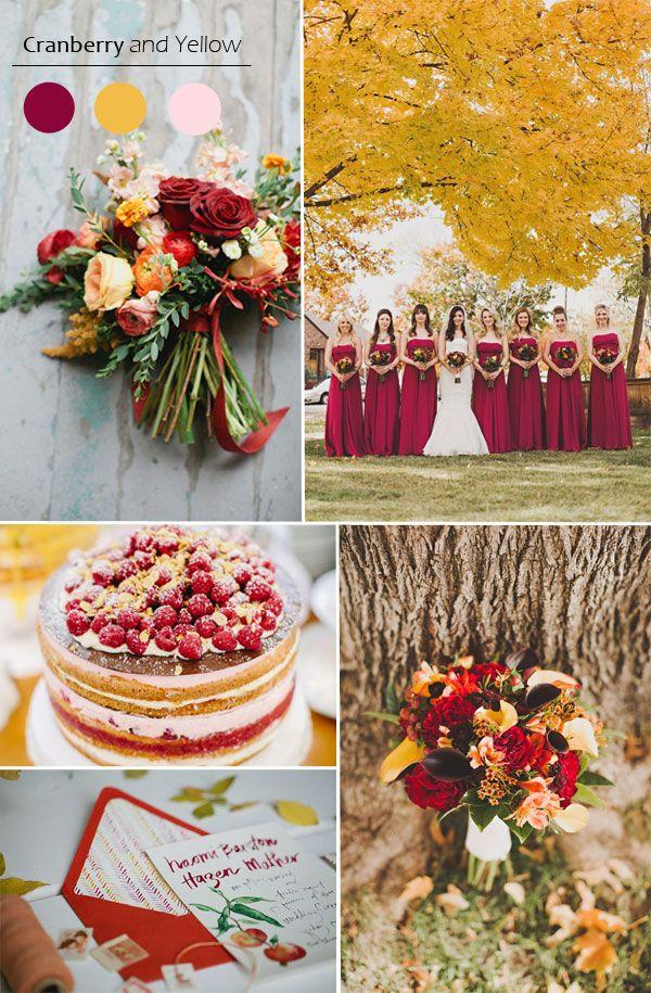 Top 5 Fall Wedding Color Combo Ideas For Autumn Brides 2015 2283062