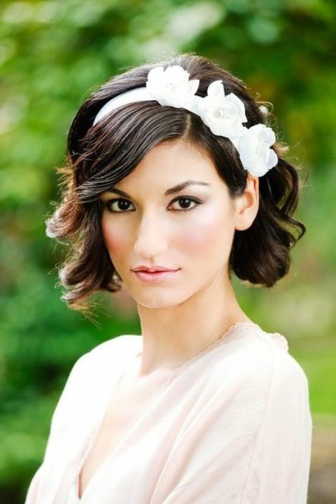 Mariage - 48 Chic Wedding Hairstyles For Short Hair
