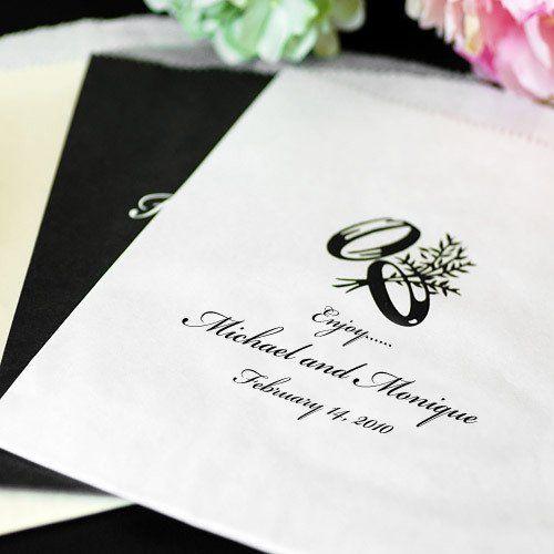 Свадьба - Personalized Cake Bag