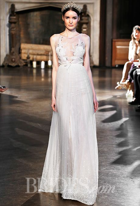 Hochzeit - Inbal Dror Wedding Dresses - Fall 2015 - Bridal Runway Shows - Brides.com