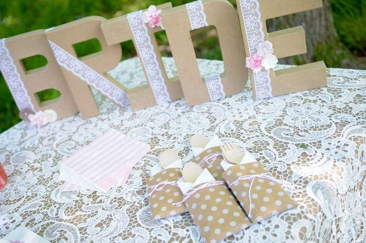 vintage lace bridal shower bridalwedding shower party ideas