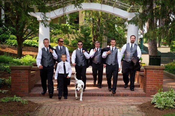 Hochzeit - Groom   Groomsmen Photos