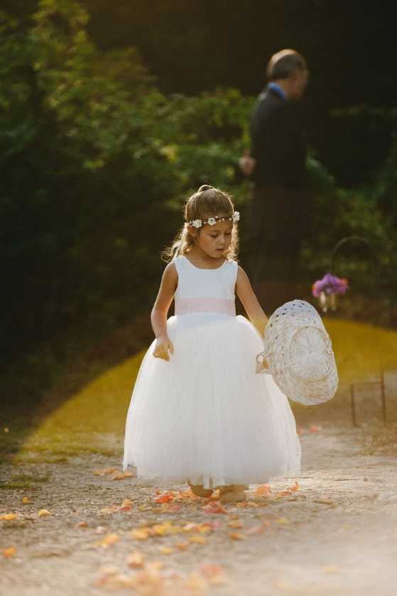 Wedding - Flower girl dress