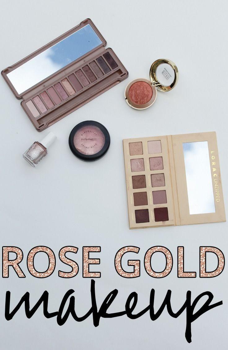 Свадьба - Rose Gold Makeup