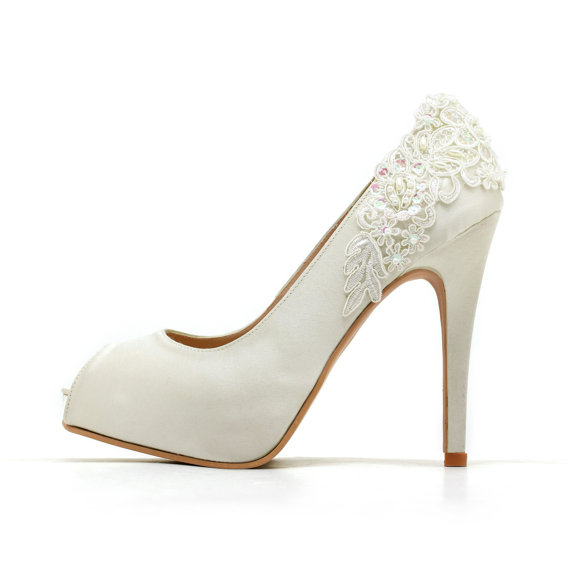7e9e38c7ad7e Ivory White Wedding Shoes