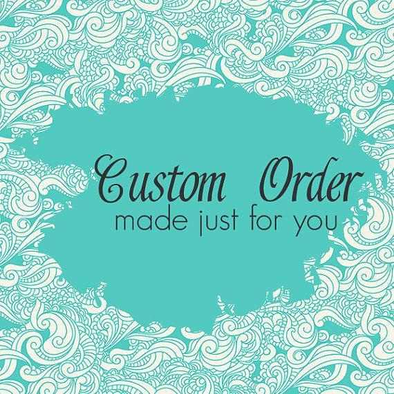 Свадьба - Custom order for Nicolle