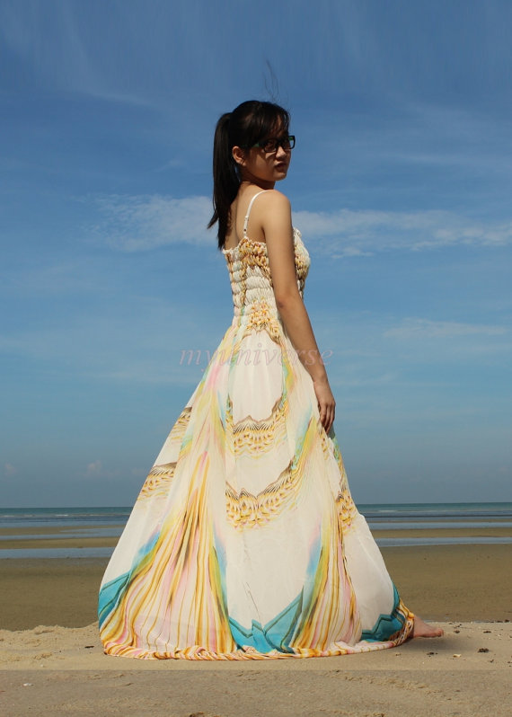 Wedding Maxi Dress Plus Size Bridesmaid Dress Women Prom ...
