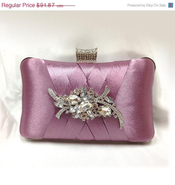 Wedding Clutch, Formal Clutch, Pink Clutch, Evening Bag ...