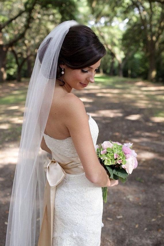 Wedding - Cathedral wedding veil chapel wedding veil