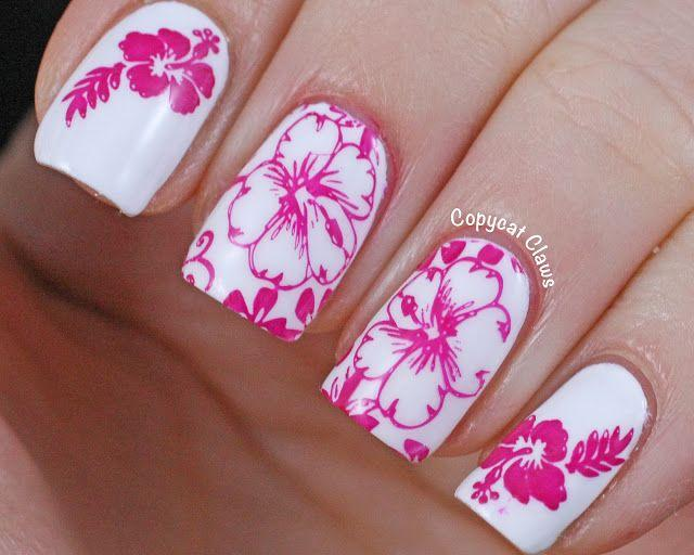 Mariage - Floral Nails