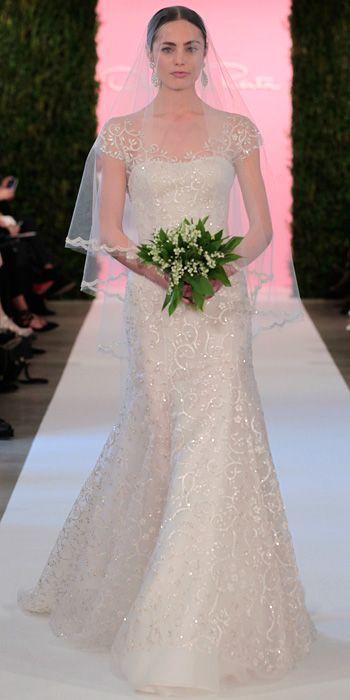 Wedding - Oscar De La Renta's Spring 2015 Bridal Collection