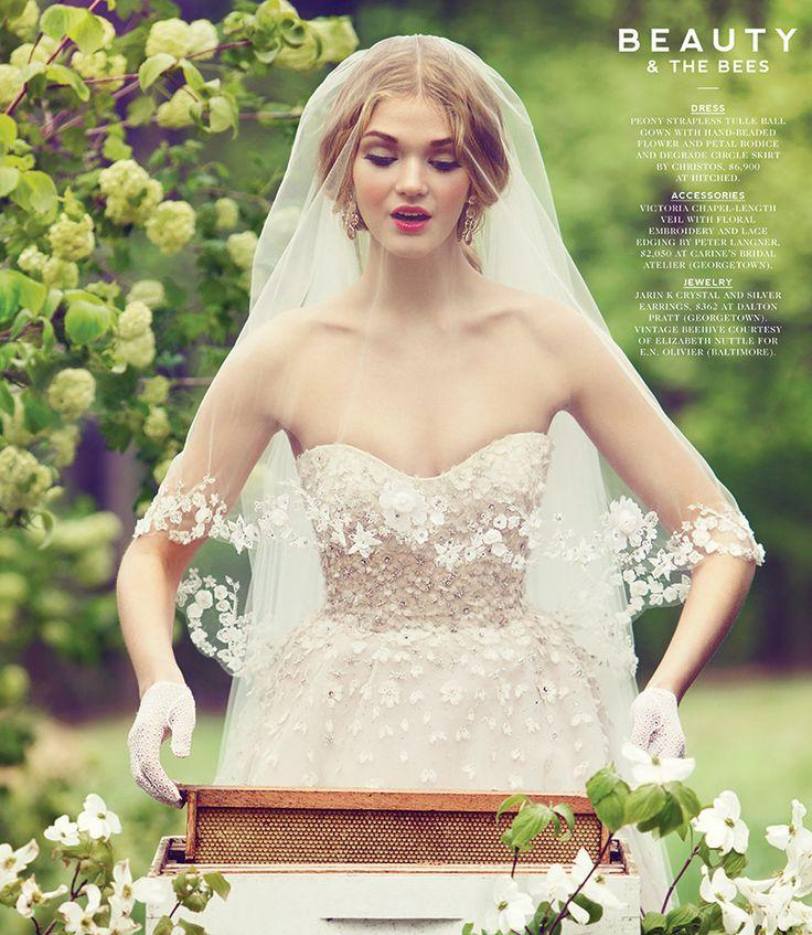 Свадьба - From The Archives: Whimsical Wedding Gown Inspiration