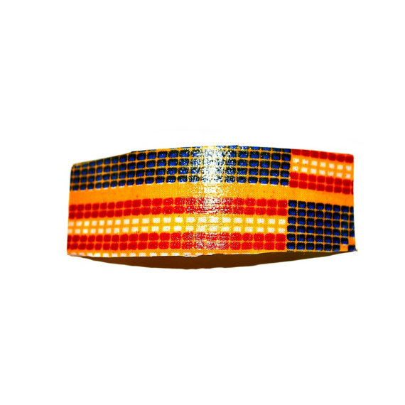Свадьба - Orange And Blue Women African Ankara Print Hair Bow -Luxurious Boutique Bow- Girls  Hair Clip -  Kitenge HairClip by Zabba Designs