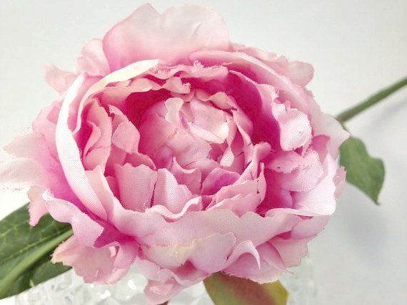 Silk flowers lavender pink peony spray diy wedding bouquet silk flowers lavender pink peony spray diy wedding bouquet artifical flowers fabric flower mightylinksfo