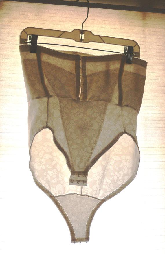 Mariage - white sheer boned panties size plus size 2x