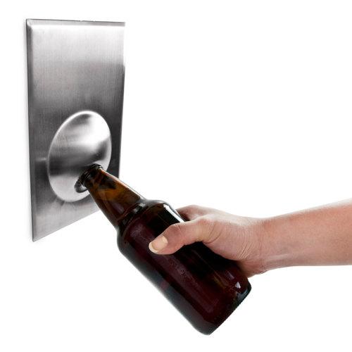 magnetic bottle opener for grill or fridge personalized groomsmen gift for him gifts for men. Black Bedroom Furniture Sets. Home Design Ideas