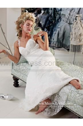 Hochzeit - Wedding By Mary's Bridal Style S15-6318