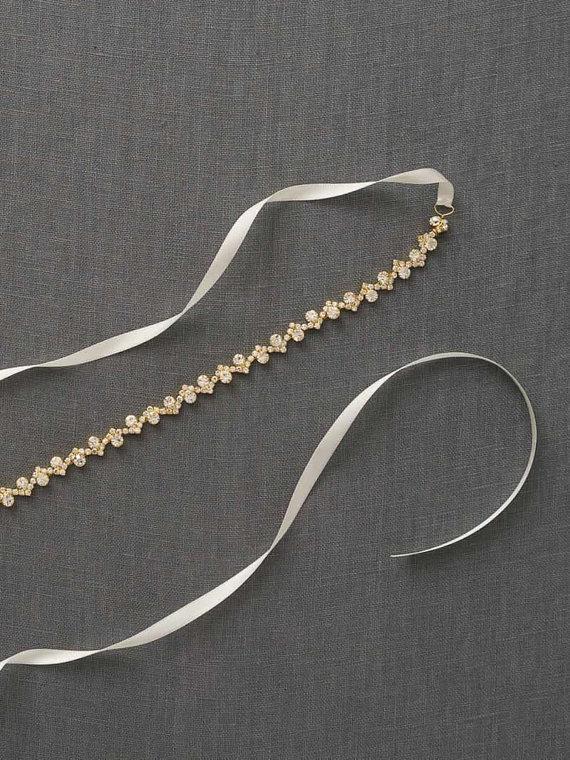 Mariage - Gold Bridal Belt