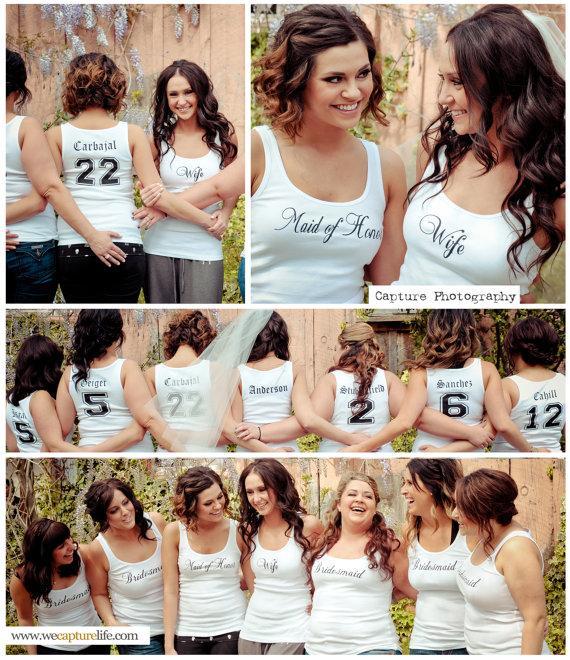 Bridesmaid nicknames