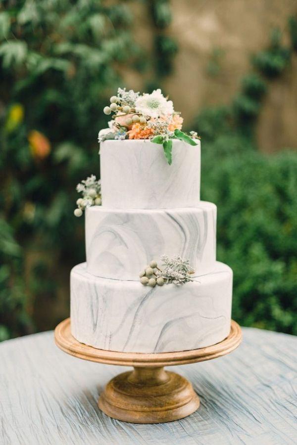 زفاف - Modern Marbled Wedding Inspiration In Earth Tones