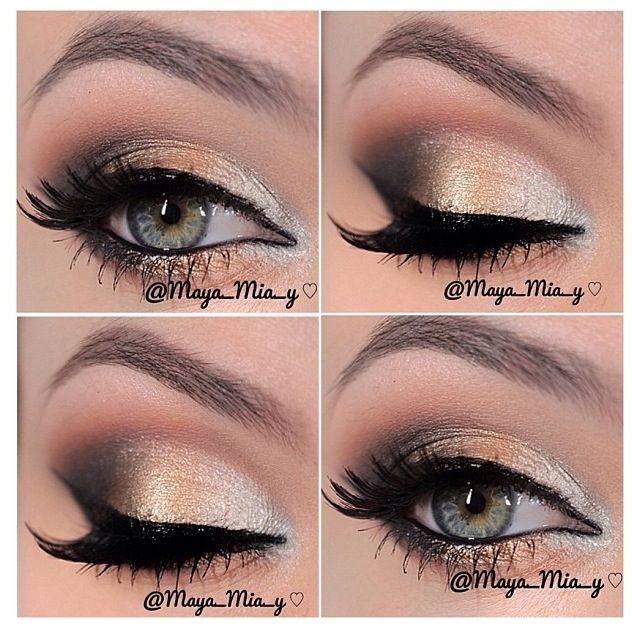 14 Overwhelming Smokey Eye Makeup Looks And Tutorials 2287253 Weddbook