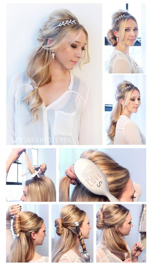 Guest Post: Glamorous Hair From SARAHPOTEMPA #2288981 - Weddbook