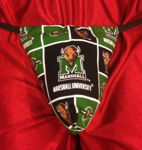 Свадьба - Mens MARSHALL UNIVERSITY Gstring Thong Lingerie Underwear