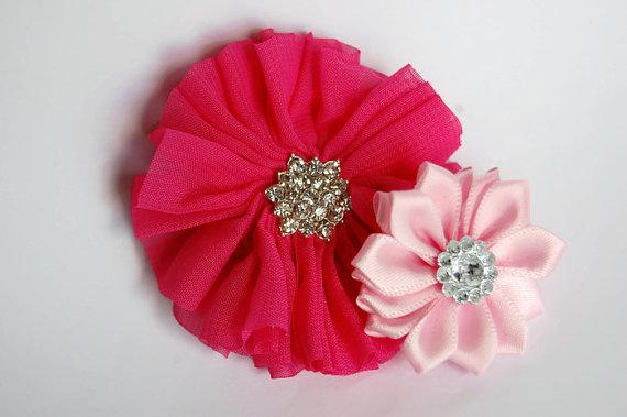 زفاف - Dog collar flowers. Dog collar, dog collar bling, collar Flowers, Wedding Dog Flowers, Bows for Dogs, Dog Bows, Pet flower, pink dog flower