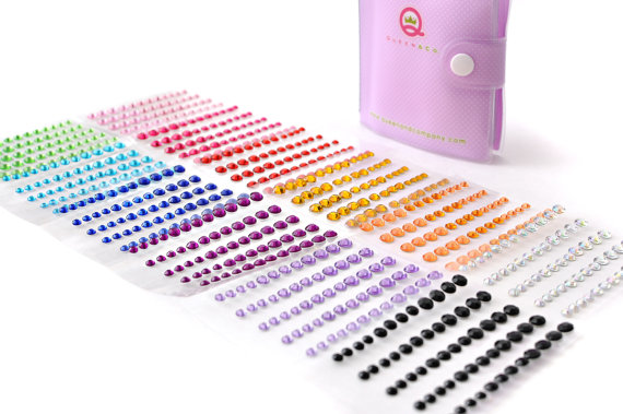 Wedding Rubber Stamping.Rainbow Bling Book With 700 Stones Perfect For Scrapbooking Rubber