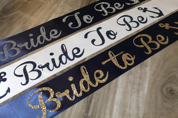 Nautical Tying The Knot Bachelorette Sash Future Mrs Bridal Shower With Glitter Anchor Theme