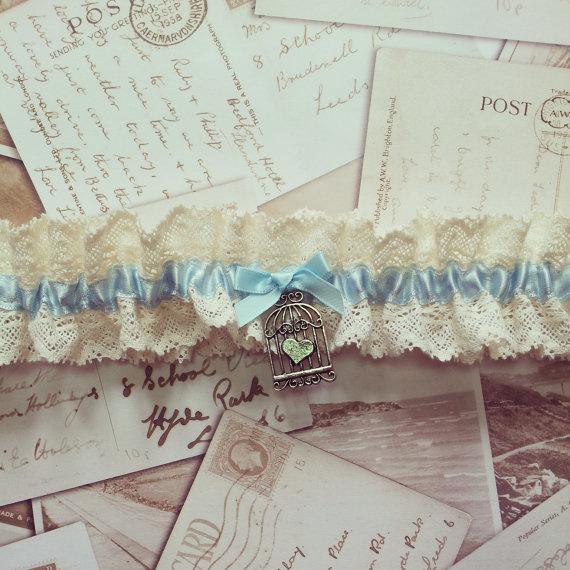 Vintage Bridal Garter 4
