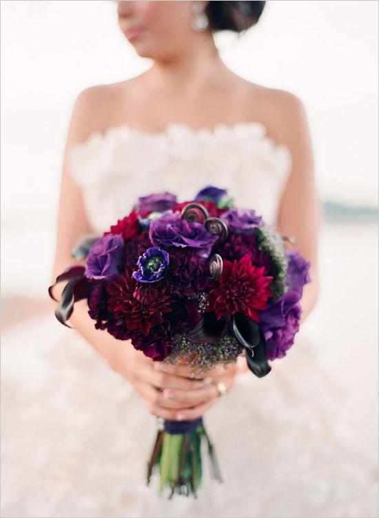 Purple Wedding - Purple, Gold And Ivory Wedding Ideas #2289901 ...