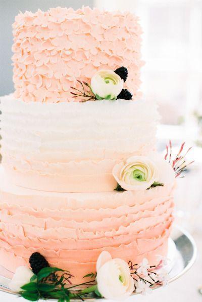 Wedding - The Prettiest Ombre Wedding Details