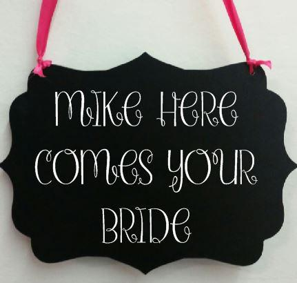 Свадьба - Here comes your bride signs- chalkboard wedding signs - ring bearer signs- wedding signs- ring bearer- chalkboard signs-