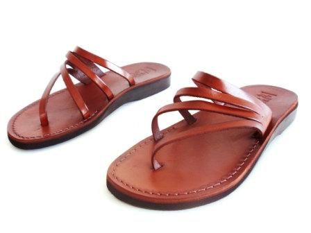 Limited Edition Leather Sandals RAINBOW