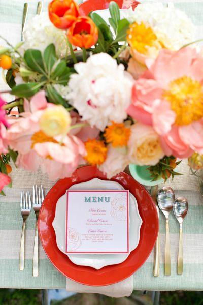 Düğün - Pink And Mint Backyard Bash