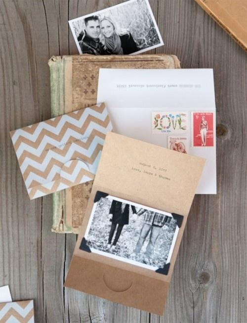 Свадьба - Some Creative *Save The Date* Ideas