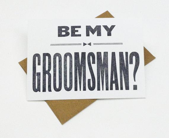 Will you be my groomsman 6 groomsman cards groomsmen gift will you be my groomsman 6 groomsman cards groomsmen gift junglespirit Image collections
