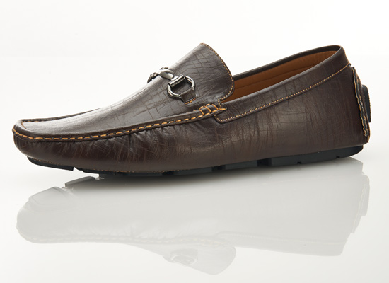 زفاف - Mens Driver Horsebit Loafers by Zapprix