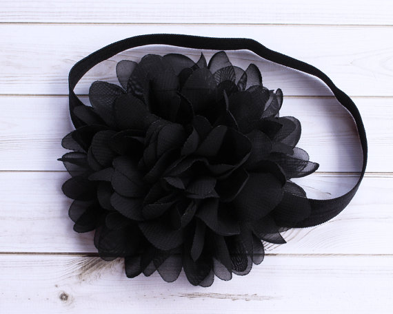 Black Baby Headband 0b4b9227aab