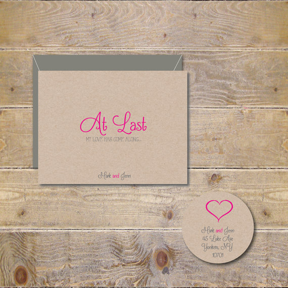 wedding thank you cards bridal shower thank you cards thank you notes thank you cards at last my love has come along set of 50