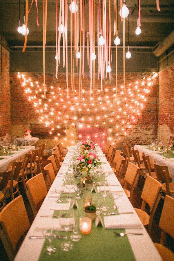 Свадьба - Wedding Reception Lighting Basics