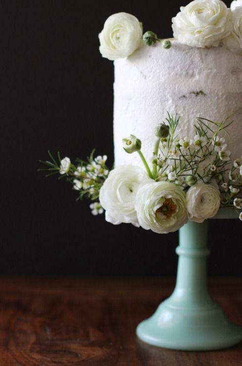 Свадьба - Matcha Green Tea And White Chocolate Cake