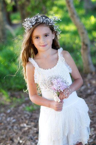 زفاف - Ivory Freesia Tulle Dress