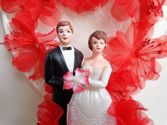 Hochzeit - Wedding Cake Toppers